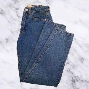 Garage Straight Mom Jeans